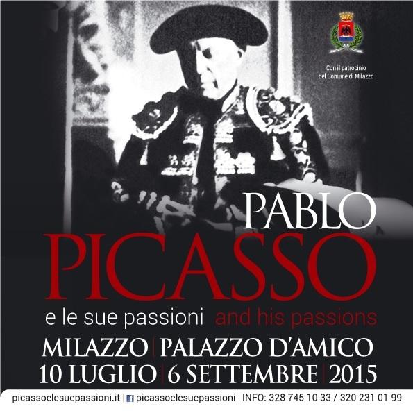 """A Milazzo """"Pablo Picasso e le sue passioni"""""""
