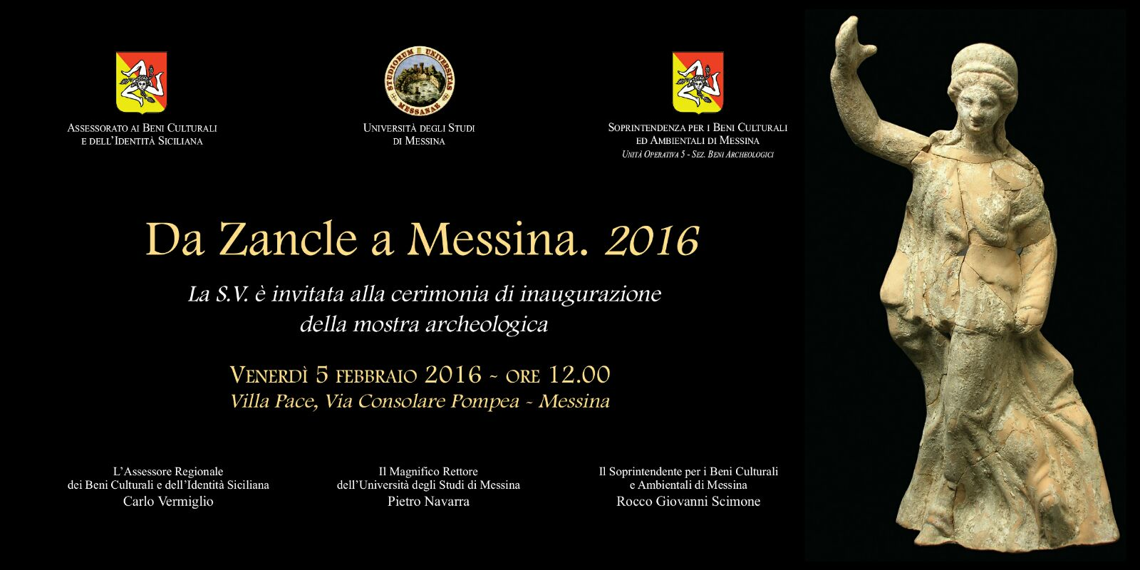 "Guide Turistiche Messina visita ""Da Zancle a Messina 2016"""