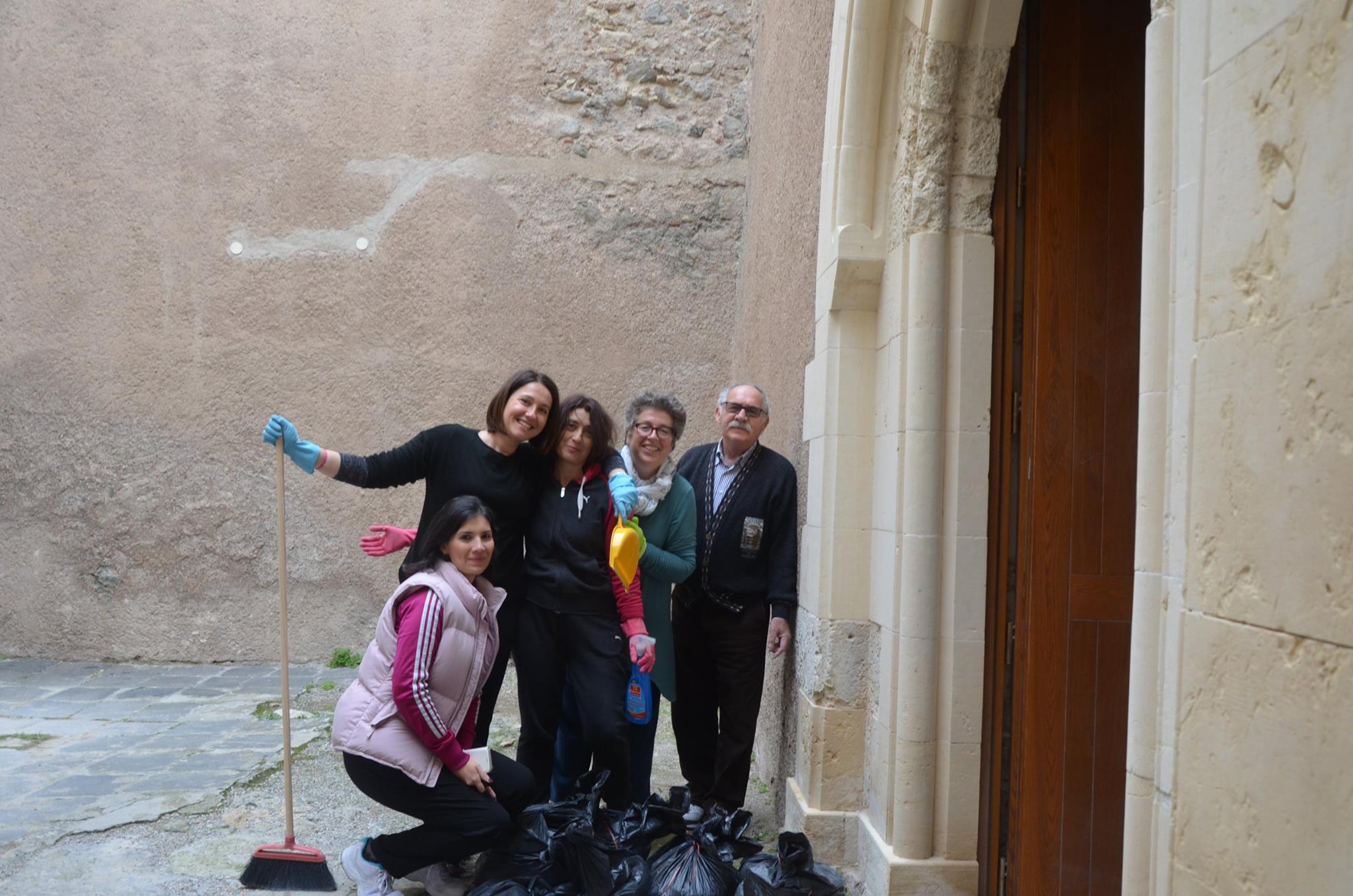 Castello di Milazzo ripulita la torre Normanna