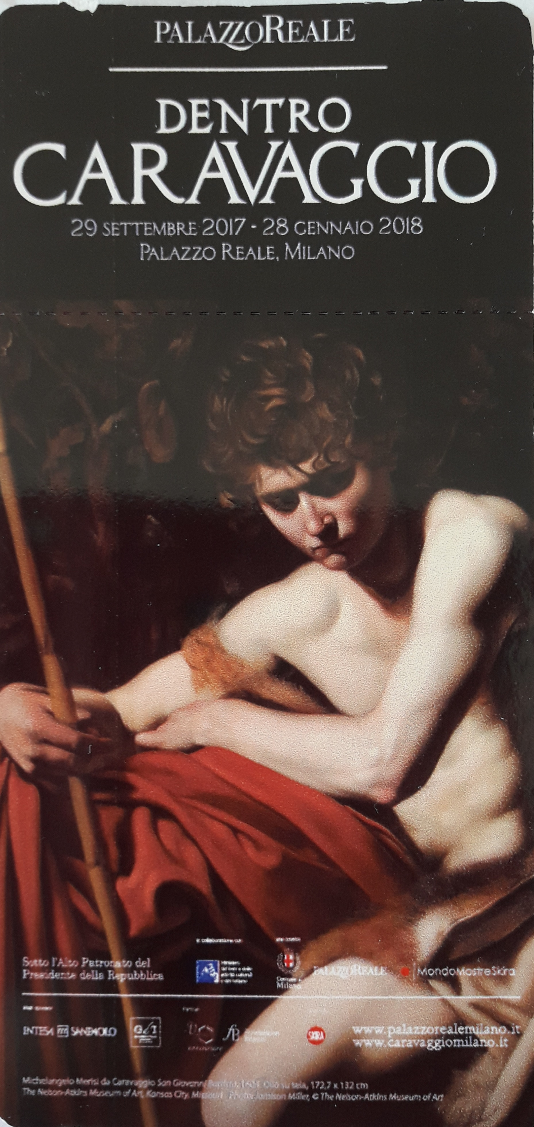 Dentro Caravaggio – Una mostra unica