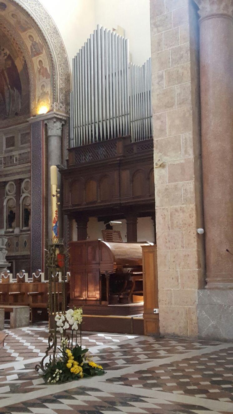 Organo Tamburini del Duomo di Messina