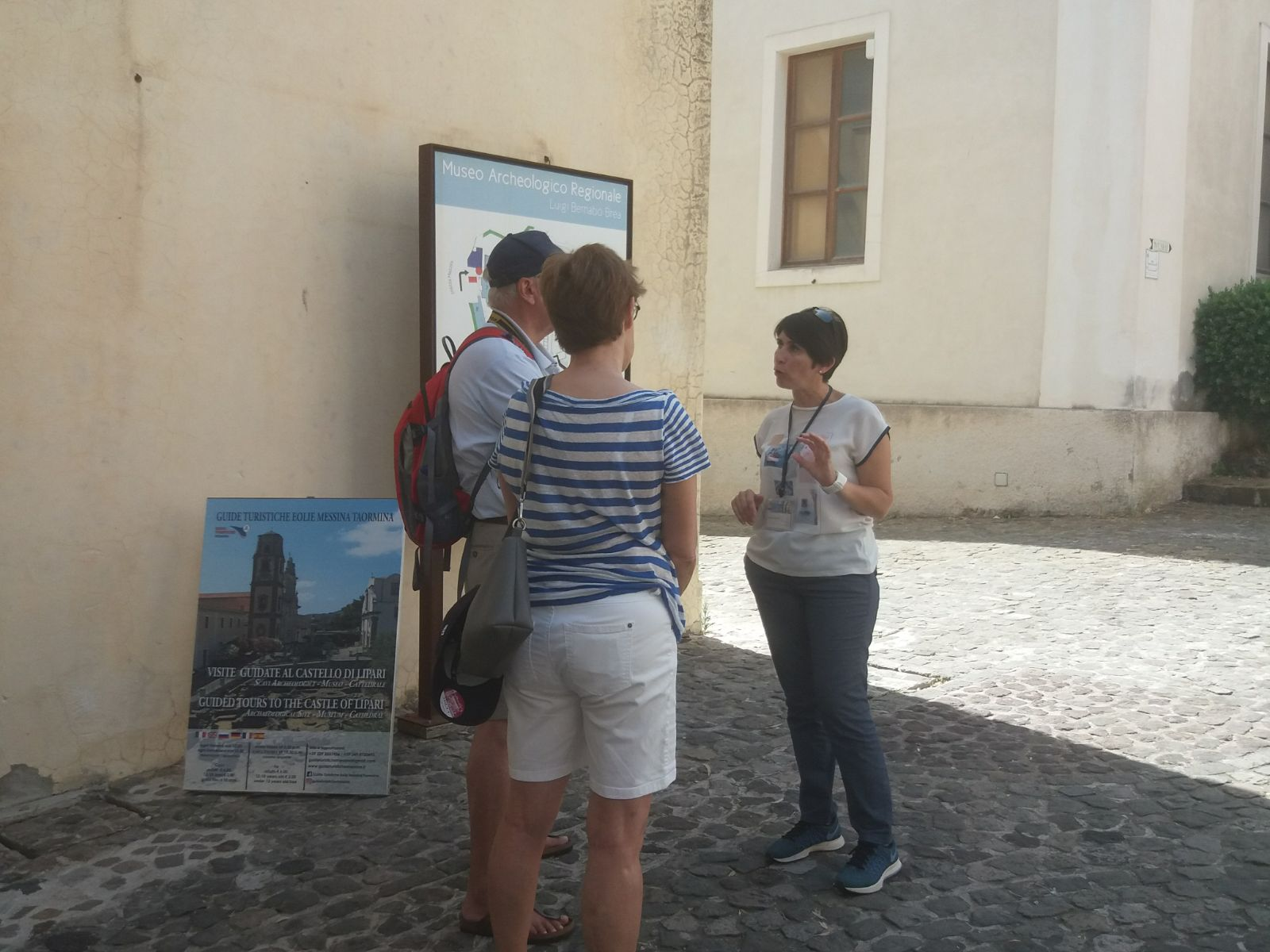 Visite guidate al Castello di Lipari