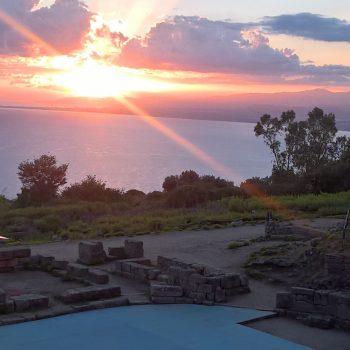 Tindari tramonto Guide Turistiche Messina