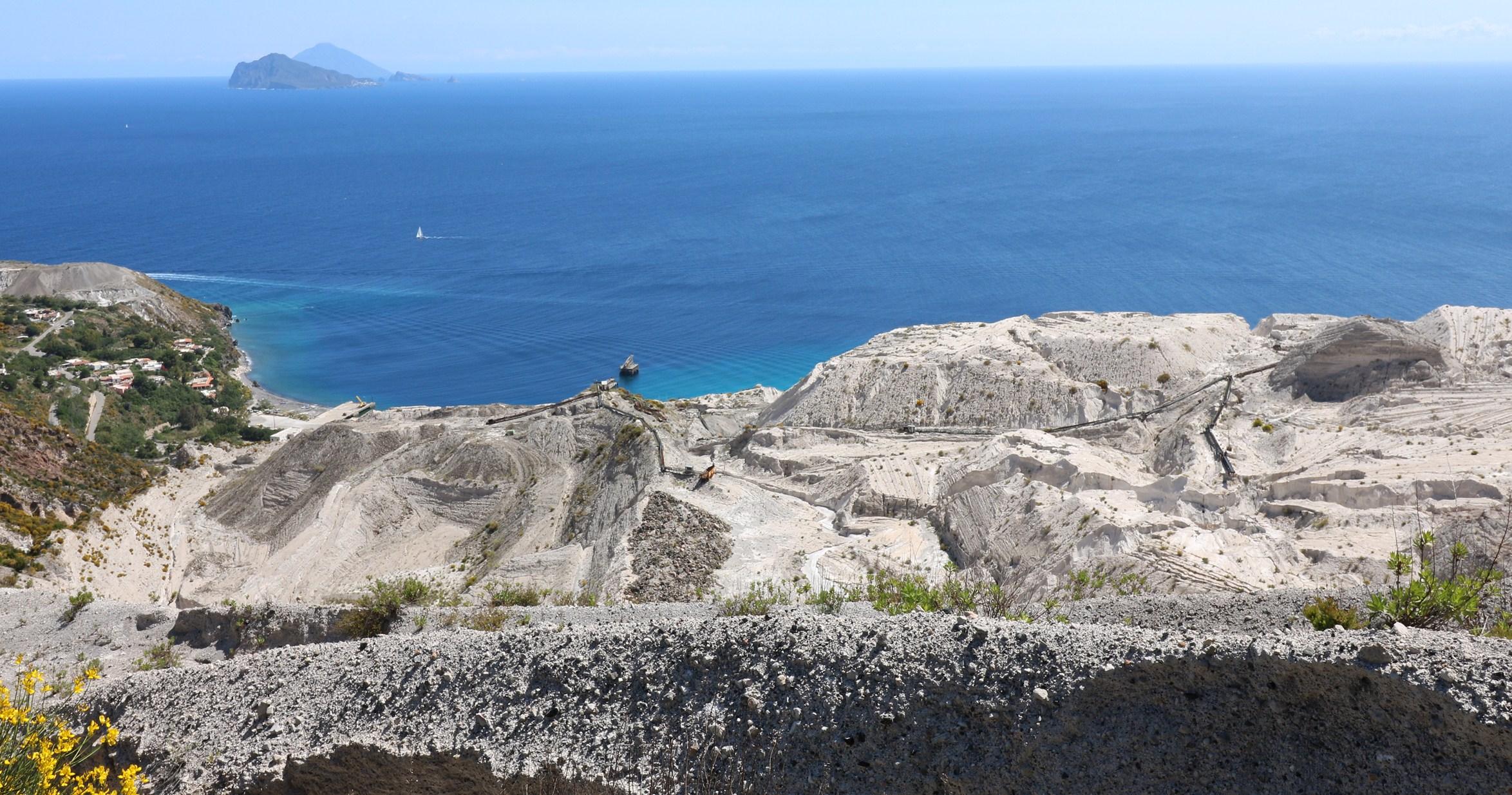 Risorse minerarie delle Isole Eolie nell'antichità
